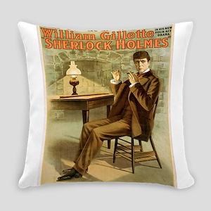 sherlock holmes Everyday Pillow