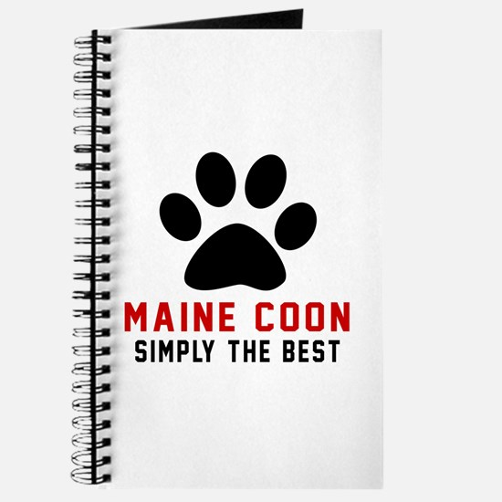 Maine Coon Simply The Best Cat Designs Journal