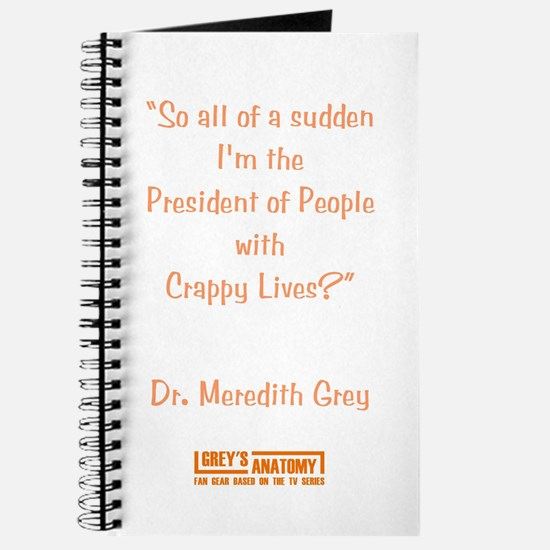 CRAPPY LIVES Journal