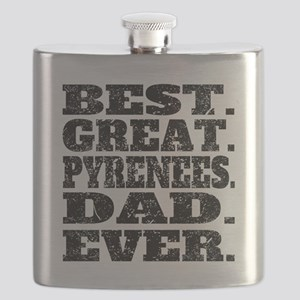 Best Great Pyrenees Dad Ever Flask