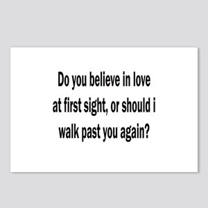 Love at first sight Postcards (Package of 8)