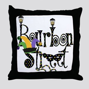 Bourbon Street Throw Pillow
