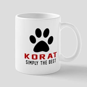 Korat Simply The Best Cat Designs Mug