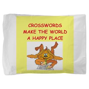CROSSWORDS Pillow Sham