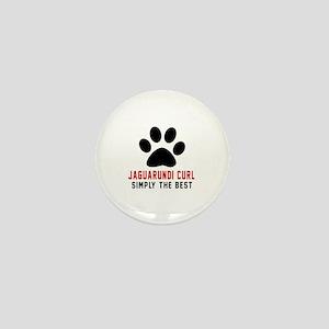 Jaguarundi curl Simply The Best Cat De Mini Button