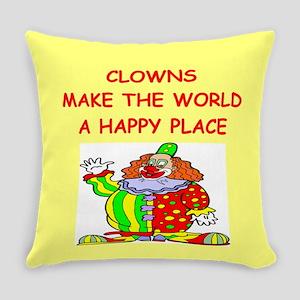 CLOWNS Everyday Pillow
