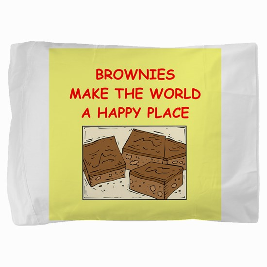 BROWNIES.png Pillow Sham
