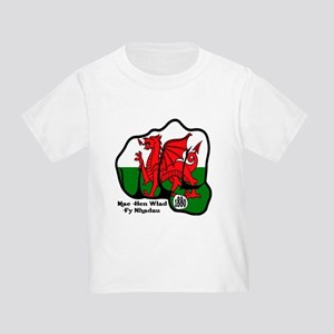Wales Fist 1881 Toddler T-Shirt