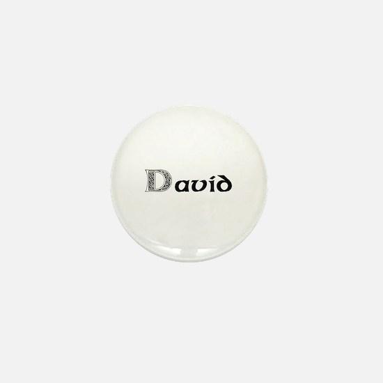 David Mini Button