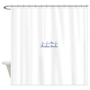 Winter Woods Shower Curtains