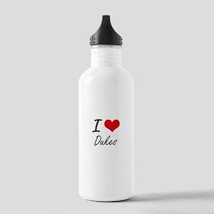 I love Dukes Stainless Water Bottle 1.0L