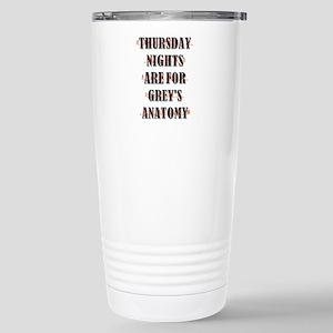 THURSDAY NIGHTS Travel Mug