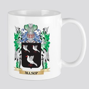 Allsup Coat of Arms - Family Crest Mugs
