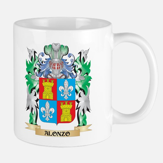 Alonzo Coat of Arms - Family Crest Mugs