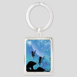 Wonderful fairy silhouette Keychains