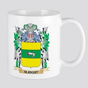 Alright Coat of Arms - Family Crest Mugs