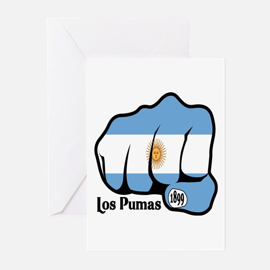 Argentina Fist 1899 Greeting Cards (Pk of 10)