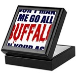 Buffalo Football Keepsake Box