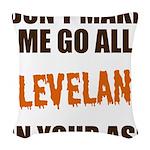 Cleveland Football Woven Throw Pillow