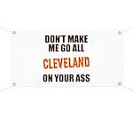 Cleveland Football Banner
