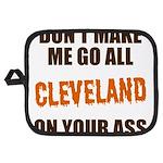 Cleveland Football Potholder