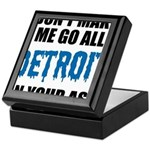 Detroit Football Keepsake Box