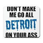 Detroit Football Mousepad