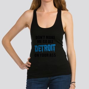 Detroit Football Racerback Tank Top