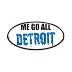 Detroit Football Patch