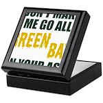 Green Bay Football Keepsake Box