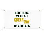 Green Bay Football Banner