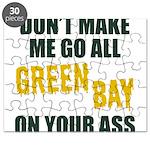 Green Bay Football Puzzle