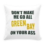 Green Bay Football Everyday Pillow