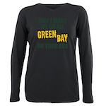 Green Bay Football Plus Size Long Sleeve Tee