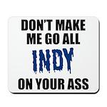 Indianapolis Football Mousepad