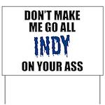 Indianapolis Football Yard Sign