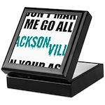Jacksonville Football Keepsake Box