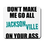 Jacksonville Football Mousepad