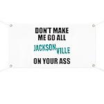 Jacksonville Football Banner