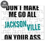 Jacksonville Football Puzzle