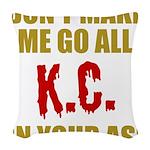 Kansas City Football Woven Throw Pillow