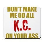 Kansas City Football Mousepad