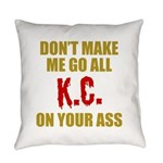 Kansas City Football Everyday Pillow