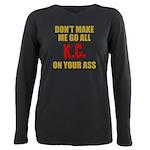 Kansas City Football Plus Size Long Sleeve Tee
