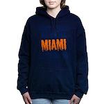 Miami Football Women's Hooded Sweatshirt
