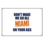 Miami Football Banner