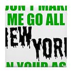 New York Football Tile Coaster