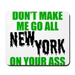 New York Football Mousepad