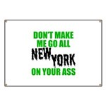 New York Football Banner