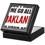 Oakland Football Keepsake Box